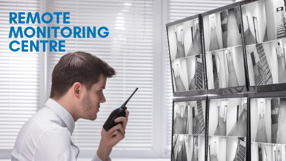 What are the benefits of a remote monitoring centre?