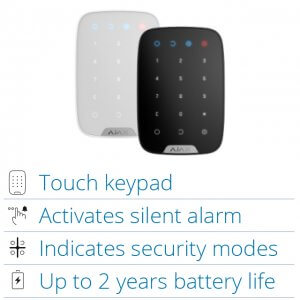 AJAX Touch Keypad