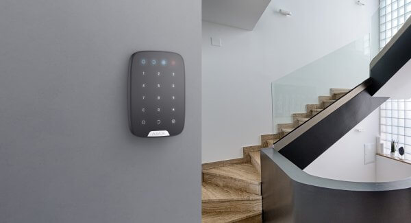 AJAX Wireless Keypad in Apartment
